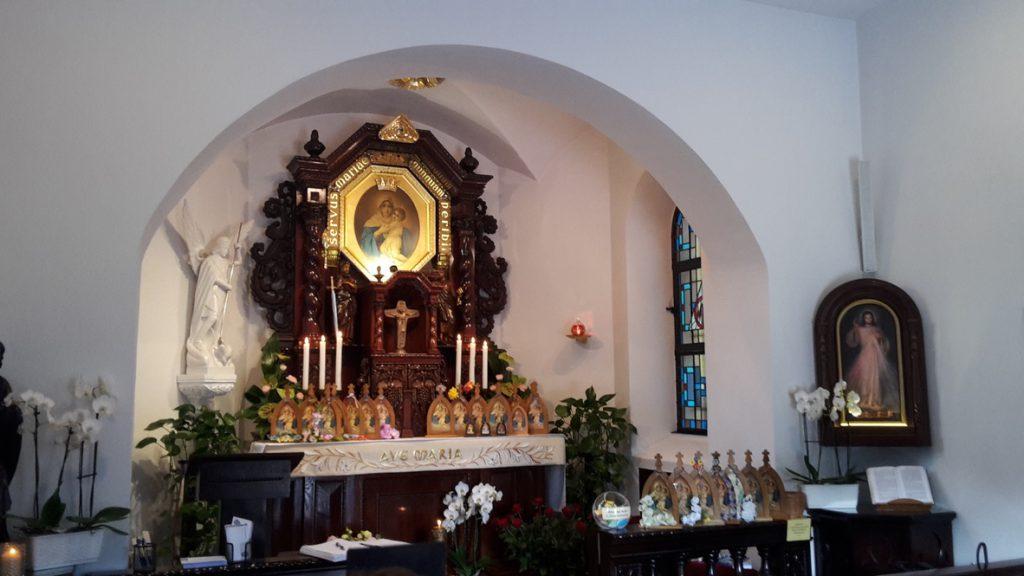 Piąta diecezjalna pielgrzymka Apostolatu Pielgrzymującej Matki Bożej z Szensztatu do Sanktuarium Wieczernika w Opolu Winowie
