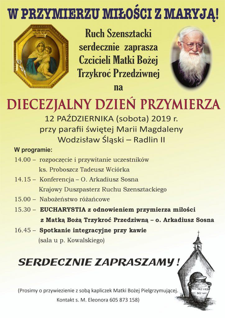 Diecezjalny Dzień Przymierza dla Diecezji Katowickiej